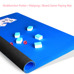 0.3mm engrossar borracha jogo de tabuleiro mahjong poker esteira do jogo da família casa jogos jogar esteira impermeável antiderrapante multifunction playmat esteiras
