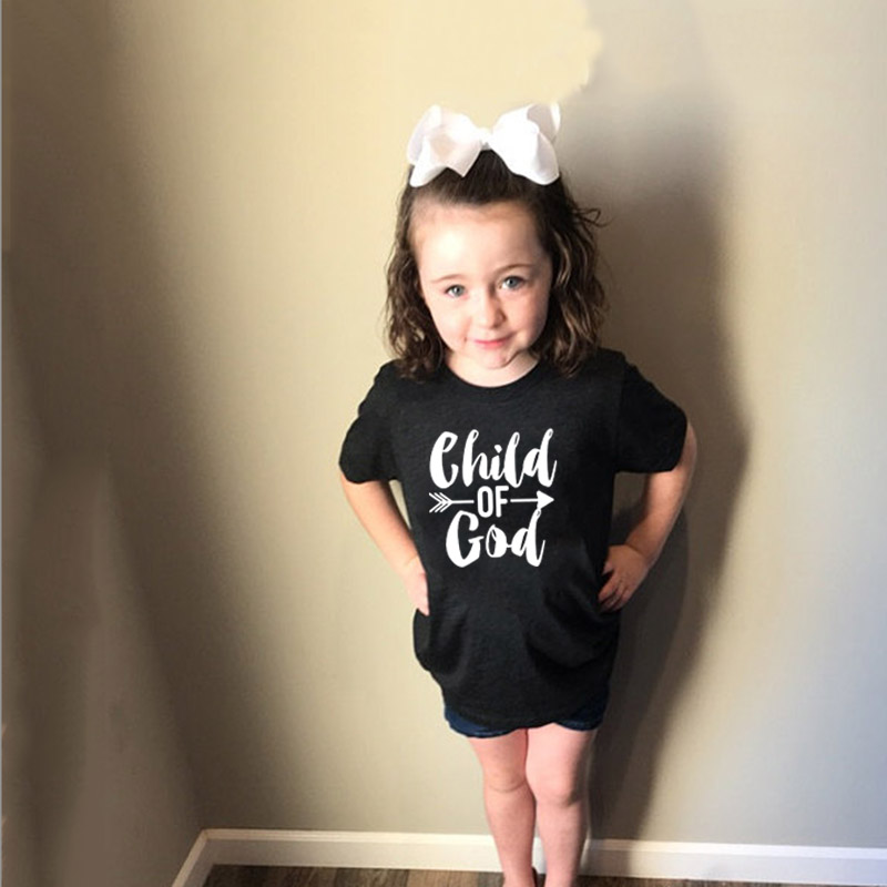 Toddler Kids Child Of God Shirt Christian Easter Gift Faith Based T-Shirt Holiday Tee Easter Outfits Boys & Girls Clothes