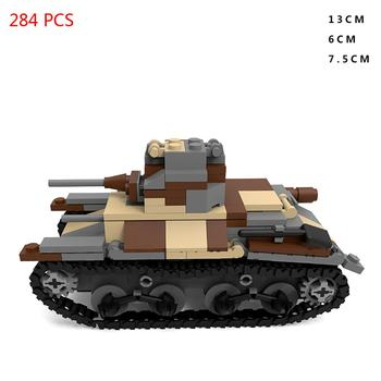 hot military WW2 technic vehicles Japan Type 95 light tank weapons army war Building Blocks model moc bricks toys for child gift xingbao moc military technic series axis panthet tank model building blocks sets chariot army ww2 soldiers diy bricks kids toys