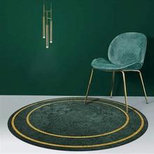 Weiche Runde Teppiche Nordic Abstraktion Teppich Teppiche Für Wohnzimmer Teppich Für Zuhause Schlafzimmer Dekoration Bereich Teppich 3D Boden matte
