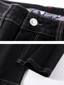 Image 5 - Pioneer Camp Mens Black Jeans Classic Autumn High Quality Pants Casual Straight Denim Trousers Male 2020 ANZ908219A