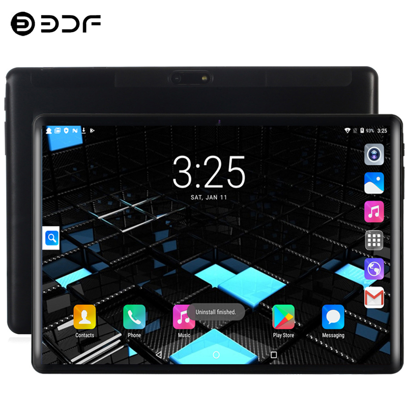 10.1 Inch Tablet PC Android 9.0 4G Phone Call 8GB+128GB Ten Core Bluetooth 4.0 Wi-FI 2.5D Steel Screen Tablet PC/X20