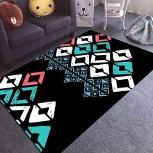 Living room table carpet modern light luxury bedroom bedside