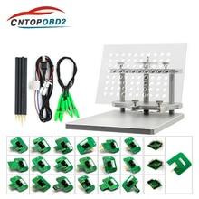 Cadre BDM métallique en acier inoxydable LED, ensemble complet de cadre en Aluminium, adaptateur 2 en 1 avec 4 pièces de sonde pour KTAG KESS FGTECH