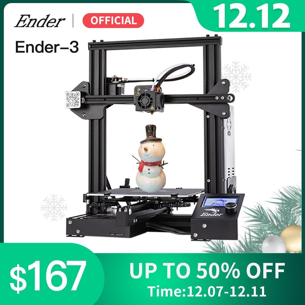Ender 3 3D Printer Kit Large Print Size Ender3/Ender 3X Printers Continuation Print Power Creality 3D prusa i3 printer diy3d printer - AliExpress