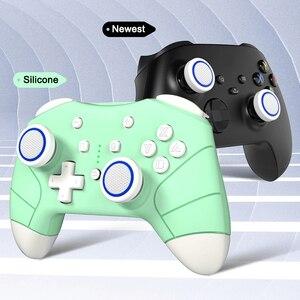 Image 4 - Capuchons dextension de poignée de pouce pour manette PS5, 4 pièces, couverture antidérapante en Silicone pour Playstation ps5