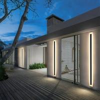 LED Outdoor Wand Licht Wasserdichte IP54 Veranda Modernen Balkon Treppe Wand Lampen Garten Dekoration Lightin villa wand Beleuchtung