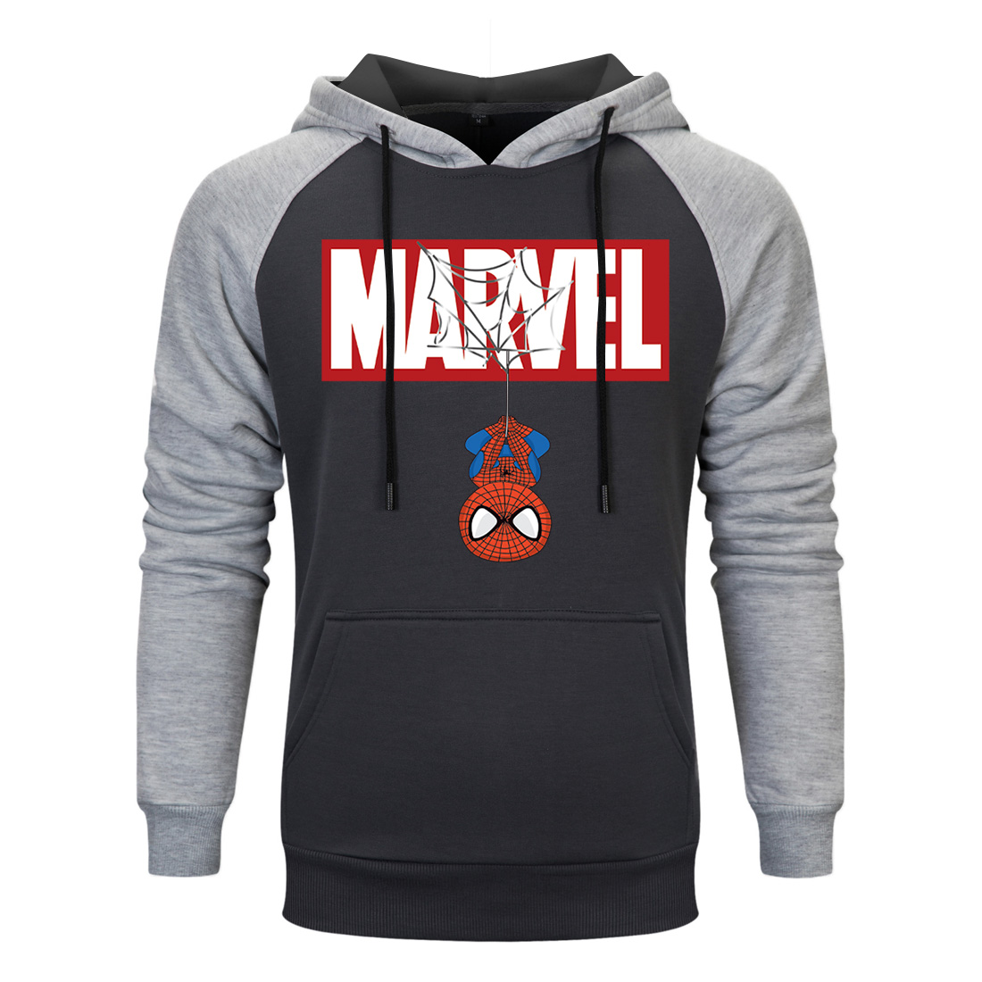 Autumn Spiderman Brand Sweatshirts Men High Quality MARVEL Letter Printing New 2019 Fashion Mens Hoodies Sudaderas Para Hombre