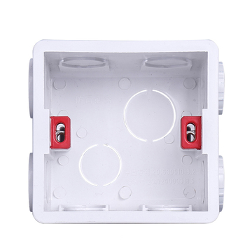 Do montażu na ścianie regulowany kaseta wewnętrzna montażu wifi touch przełącznik usb gniazdo materiały z białego tworzywa sztucznego dla 86 typu Standard tanie i dobre opinie Double protection 20 year
