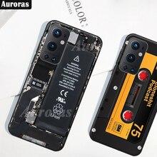 Obudowa Auroras do OnePlus 9 Pro All Protection kamera Retro wzór gamepada miękkie etui do etui One Plus 9
