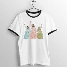 Women's T Shirt Hamilton Schuyler Sisters Broadway Musical Baseball Tee