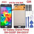 5,0 дюймов Чехол для мобильного телефона для Samsung Galaxy Grand Prime SM-G530F SM-G531F ЖК-дисплей экран и полный комплект аналого-цифрового преобразователя в ...