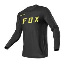 Long sleeve mountain bike jersey downhill endurance jersey MX off-road motorcycle mountain bike clothing FOX MTB