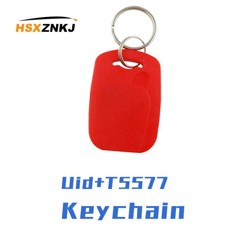 50 / 100pcs IC ID Frequency RFID Keyfob 125KHZ T5577 EM4305 13.56MHZ Rewritable Composite Key Dual Chip Tag