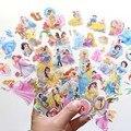 Disney Белоснежка платье принцессы-Русалочки с Скрапбукинг для детских комнат дневник украшение для ноутбука игрушка 3D стикер