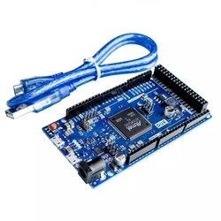 2012 из-за R3 доска AT91SAM3X8E SAM3X8E 32-битный ARM Cortex-M3 Управление борту модуль для Arduino макетная плата