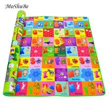 תינוק Play Mat ילדים פיתוח מחצלת Eva קצף כושר משחקים לשחק חידות תינוק שטיחי צעצועים לילדים של שטיח רך רצפת