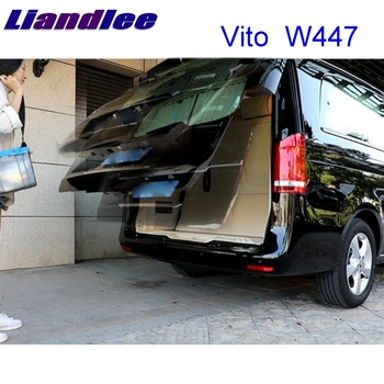LiTangLee Car Electric Tail Gate Lift Trunk Rear Door Assist System for Mercedes Benz MB V Class W447 Vito 2014~2020