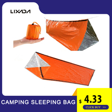 New High Quality Lightweight Camping Sleeping Bag Outdoor Emergency With Drawstring Sack For Travel Hiking