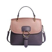 2020 spring and summer new female bag fashion pu leather handbag shoulder crossbody Shoulder Bags