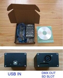Image 4 - DMX512 Led Stage Lighting Controller DMX Dongle USB DMXอินเทอร์เฟซ512ช่องPC SDสนับสนุนออฟไลน์ยายSunlite Lightjockey