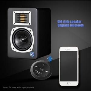 Image 3 - Магнитный Bluetooth аудио ресивер DISOUR, автомобильный комплект громкой связи, fm передатчик Bluetooth 3,5 мм AUX, беспроводной стереоадаптер 5,0 Dongle