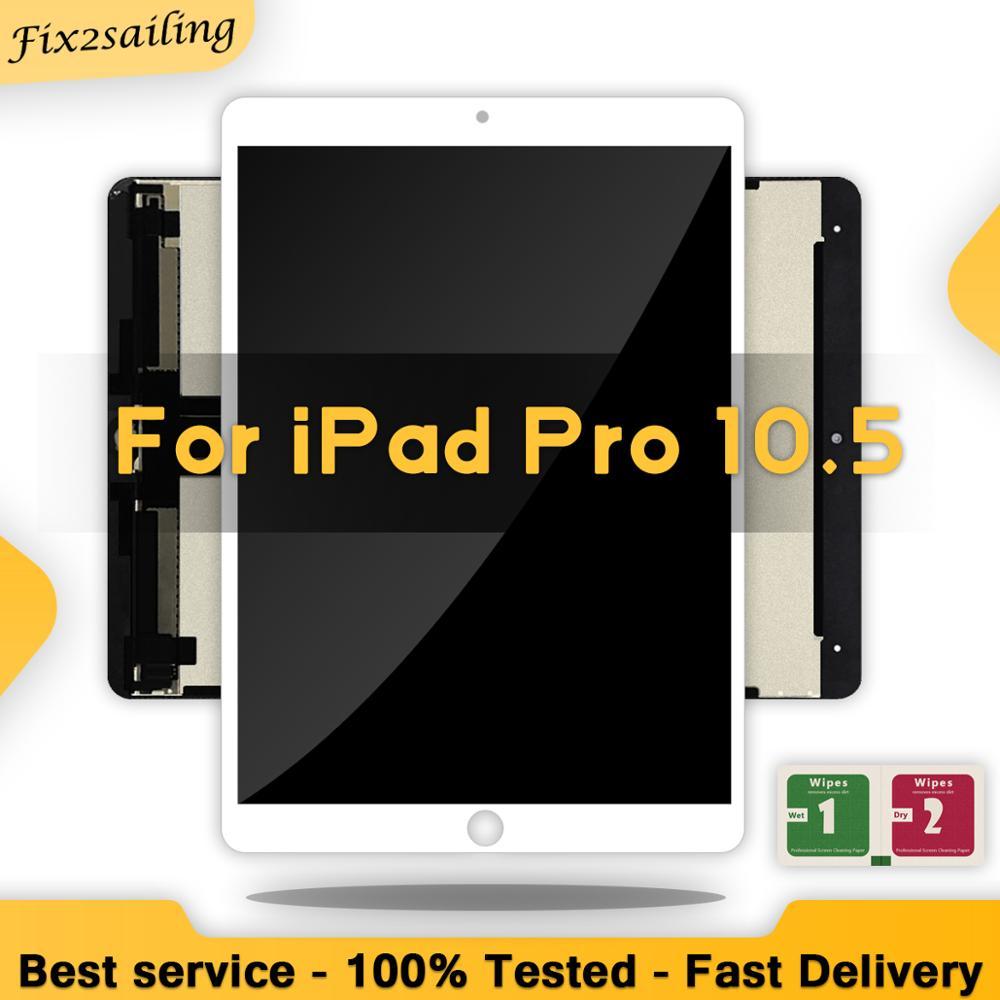 Pantalla LCD para iPad Pro de 10,5 pulgadas, digitalizador de montaje completo, reemplazo de tableta, OEM, A1701, A1709