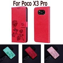 Voor Xiaomi Poco X3 Pro Case Telefoon Scherm Beschermende Shell Cover Op Poko X3 Pro Case Flip Wallet Leather Book hoesje Funda Coque