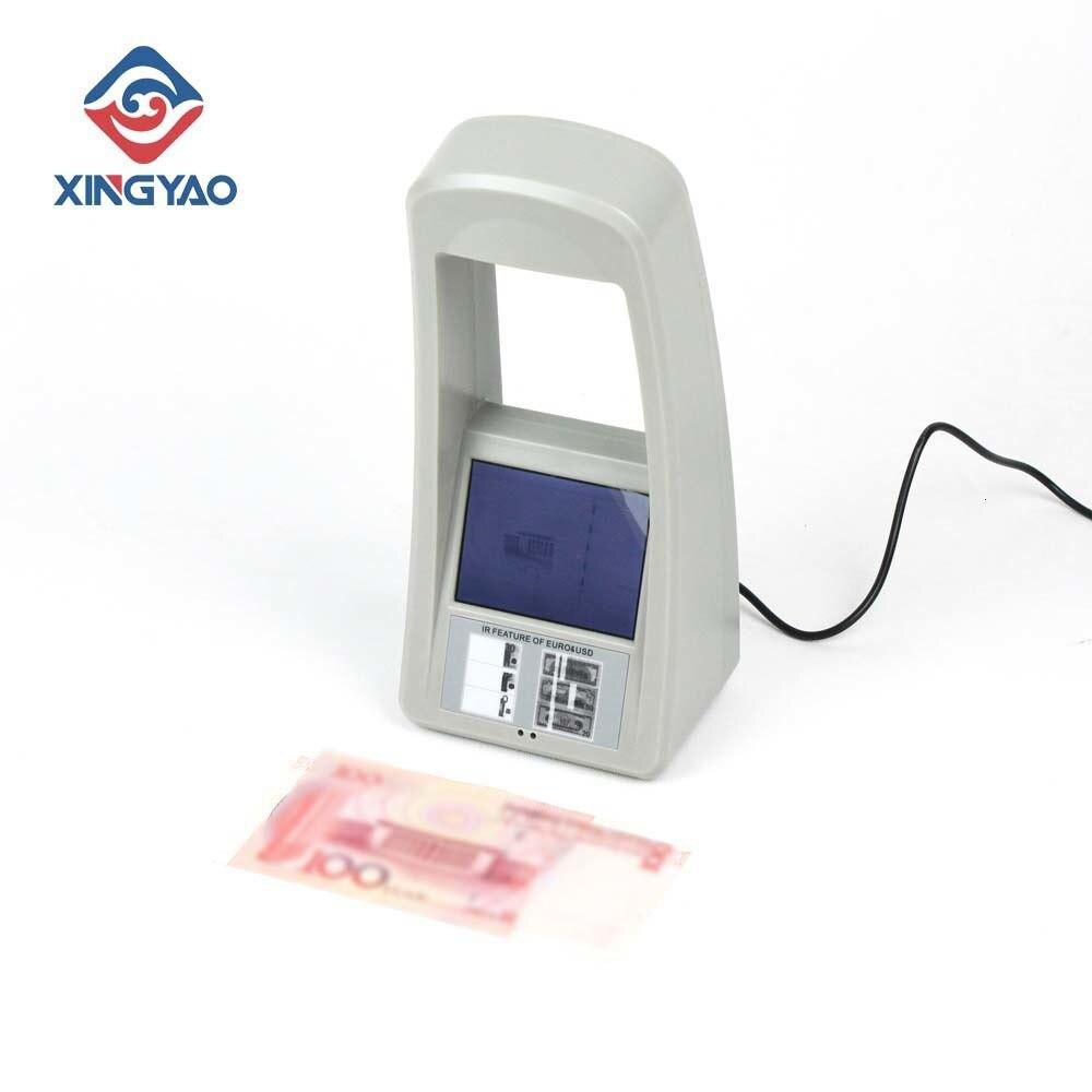 operacao facil do detector de dinheiro infravermelho notas verificacoes contas carimbos que detectam a maquina com