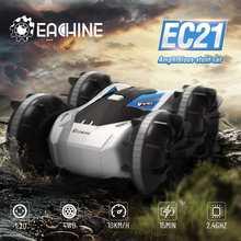 Eachine ec21 2 em 1 anfíbio rc deriva carro com rc barco modo 1/20 4wd 2.4g de controle remoto autos brinquedos para adultos e meninos crianças