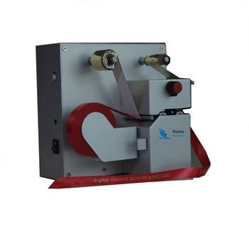 Máquina de serigrafía digital listón láminas caliente más popular para cinta