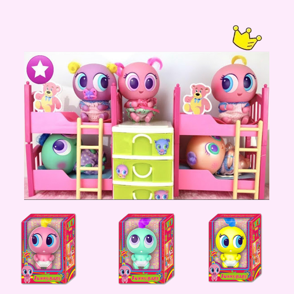 Ksi-meritos LOL Juguetes Casimeritos Toy With Neonate Nerlie Micro Kit Nerlie Neonate Babies Accessories Chivatita For Kids Toys
