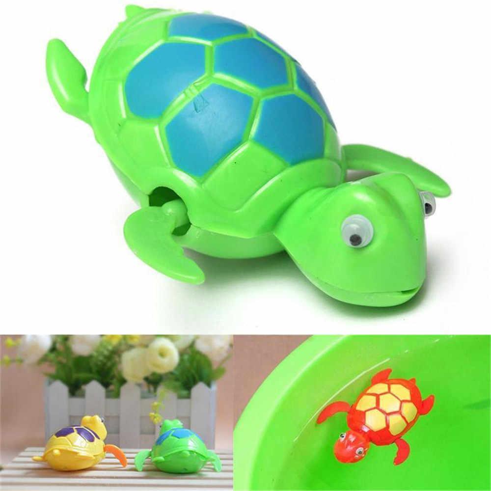 Juguetes De chico, nuevos juguetes de baño para Juguetes Divertidos para niños, cadena de natación, Tortuga, juguetes de baño para bebés, regalo para recién nacidos, juguetes acuáticos
