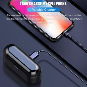 Image 5 - BluetoothワイヤレスイヤホンF9 twsイヤホンスポーツヘッドフォン低音ノイズキャンセルヘッドセット型充電ボックス