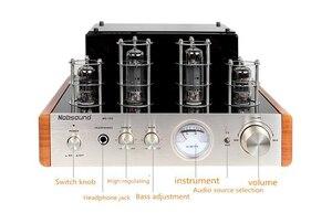 Image 5 - Nobsound MS 10D צינור מגבר אודיו כוח מגבר 25W * 2 ואקום מגברי תמיכה 110V או 220V Hifi מגבר MS 10D