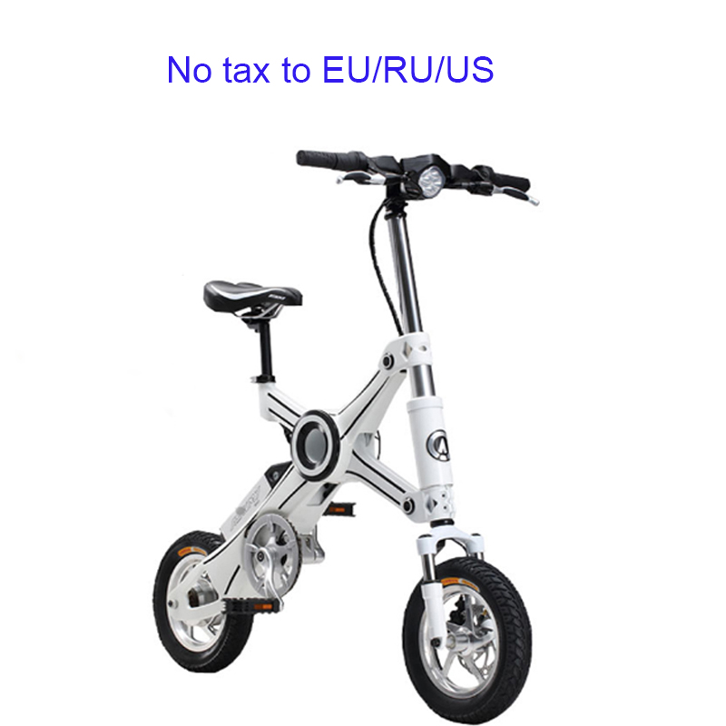 12 pouces pliant vélo électrique en alliage d'aluminium batterie au lithium vélo mini adulte vélo électrique parent enfant ebike
