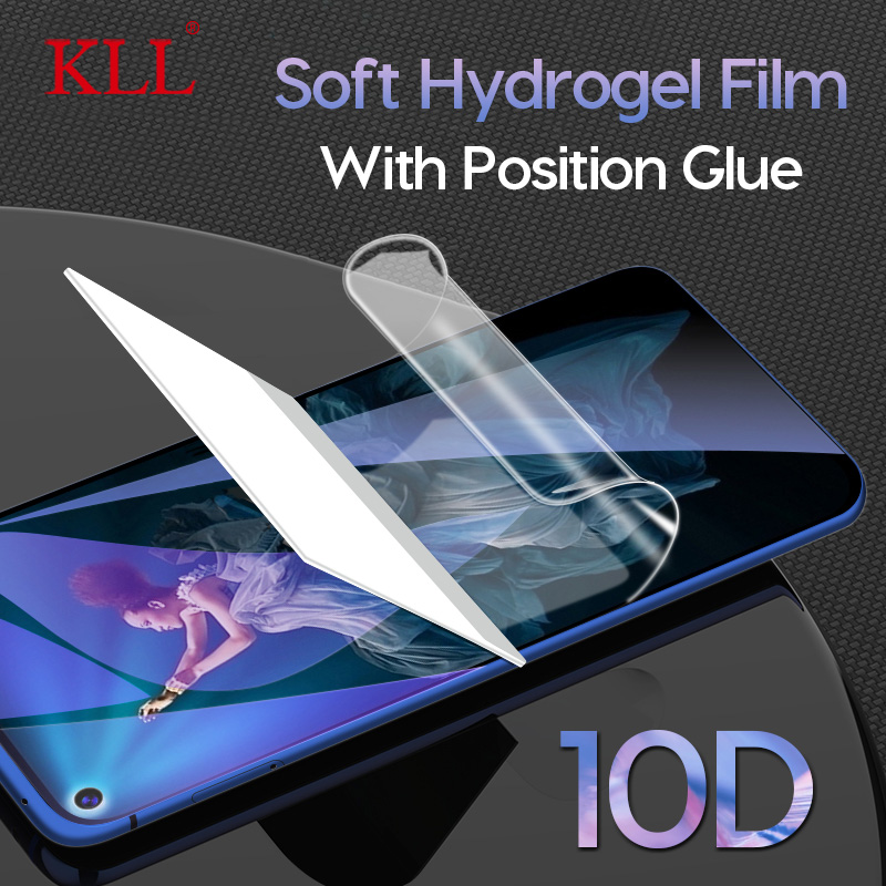 Full Cover Soft Hydrogel Film for Honor 20 Pro 20i 10 Lite View 20 Magic 2 Screen Protector for Huawei P Smart Z Plus Y7 Y6 Pro(China)