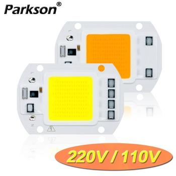 COB LED Lamp CHIP 220V 110V LED Lights Bulb 10W 20W 30W 50W IP65 Smart IC DIY Flood light Bulb Spotlight Lamp Outdoor Lighting 1