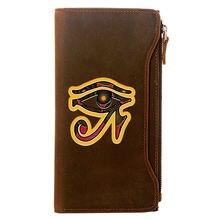 Классический дизайнерский кошелек из натуральной кожи в стиле