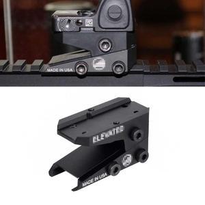 TMC Co-testigo Rifle diapositiva óptica montaje alcance para réplica Aimpoin T1 Trijicon RMR MRO Piccatinny 1913 montados