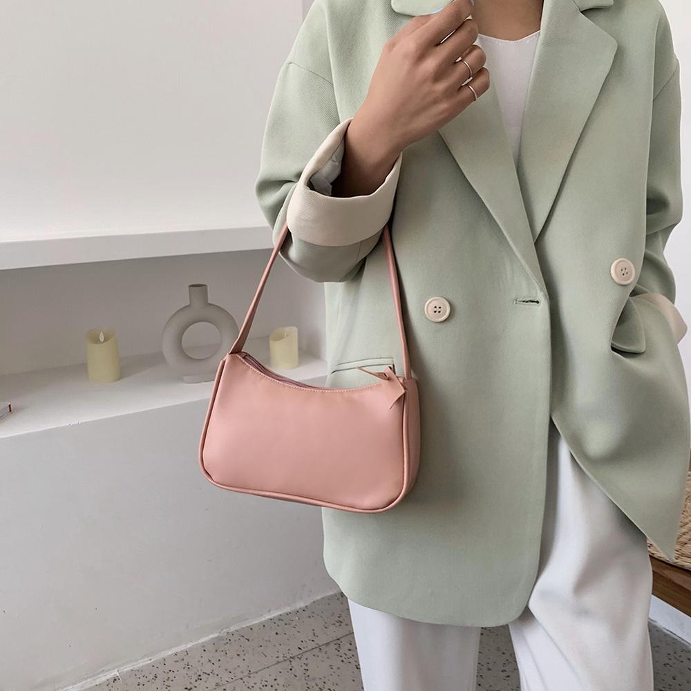 Casual Women PU Leather Crossbody Bag Female Chain Messenger Shoulder Handbags Women 2020 Small Handbag Ladies Fashion Purse