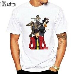 T-Shirt Lupin Iii Lupin The Third Cartone Anni 80 - Mito - 2 - S-M-L-Xl Brand Clothing Tee Shirt