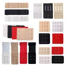 3/4/6/8 pçs sutiã extensores de extensão cinta para mulheres fivela de cinto ajustável náilon elástico sutiã extensão cinta gancho clipe expansor