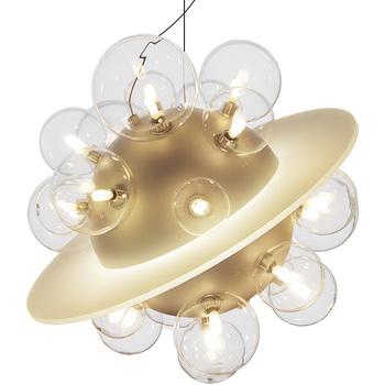Żyrandol Saturn ring planet 22 szklane żarówki gradientowy pierścień Saturn kreatywne lampy wiszące space planet tanie i dobre opinie WOODSMAN CN (pochodzenie) Galwanicznie Gabinet Badania Mistrz sypialnia Inne sypialnie Hotel hall Hotel room Przewód wisiorek