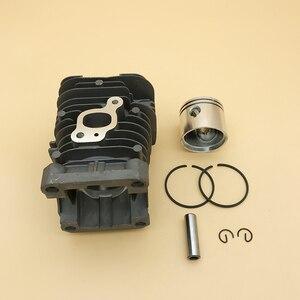 Image 5 - HUNDURE Juego de pistón y cilindro de motosierra de 41,1mm para Partner 350 Partner 351, piezas de repuesto de motosierra de gasolina