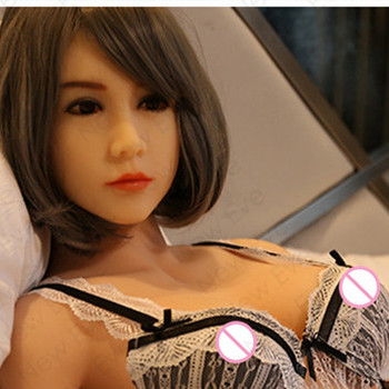158cm Real Silicone Sex Dolls With Metal Skeleton Life Size Japanese Elf Adult Mini Lifelike Oral Sex Dolls Vagina Pussy For Man
