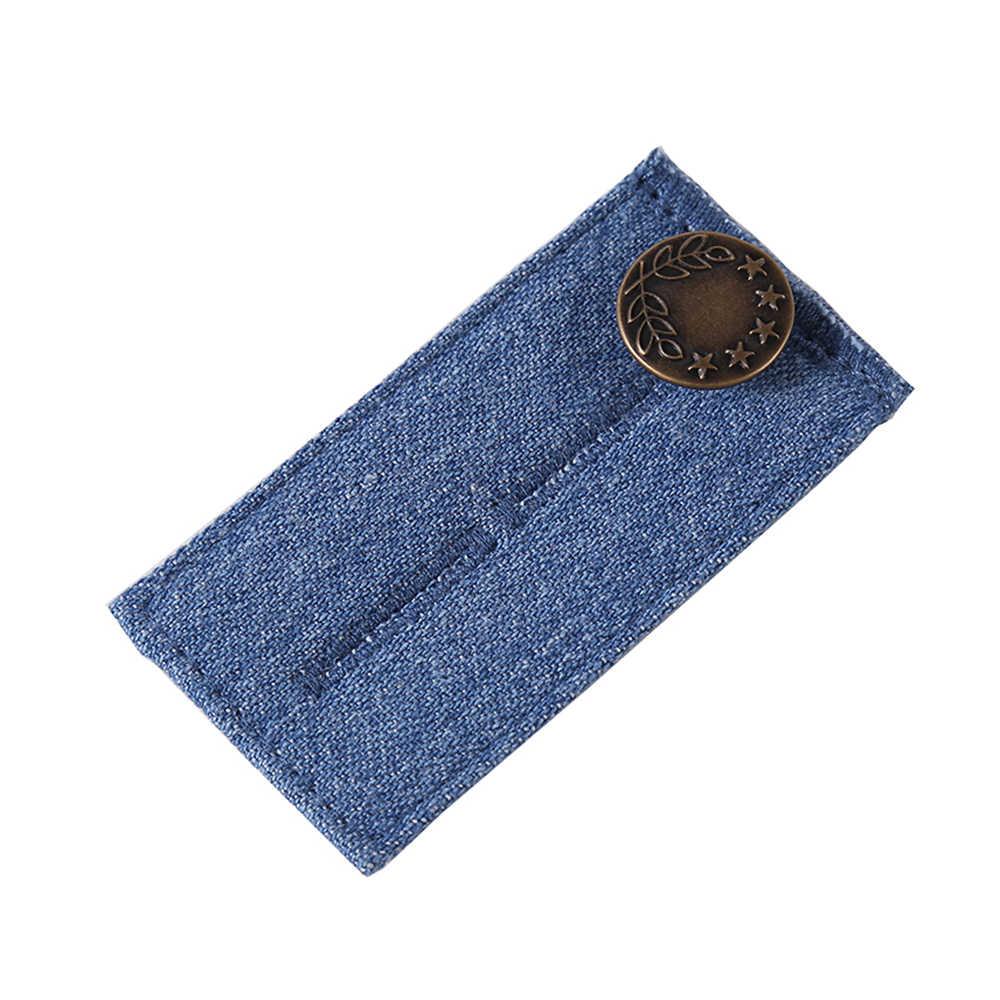 1 قطعة التمديد تعديل مطاطا مشبك الحمل الخصر موسع زنار حزام الجينز الخصر تمتد بانت السمنة الحوامل حزام