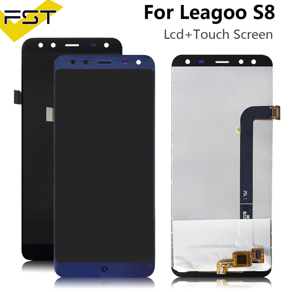 5.72'' For Leagoo S8 LCD Display+Touch Screen Digitizer Repair Parts For Leagoo S8 LCD Screen Glass Panel Sensor With Tools