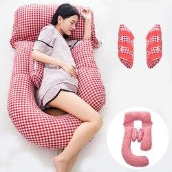 Tamaño grande de las mujeres embarazadas de lactancia almohada de maternidad cuerpo de dormir almohadilla G forma de maternidad almohadas poduszka cizowa
