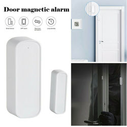 Bezprzewodowy WIFI inteligentne drzwi okno szczelina czujnik kontaktowy Gap dzwonek dzwonek Alarm Alexa zestaw domowy Alarm bezpieczeństwa